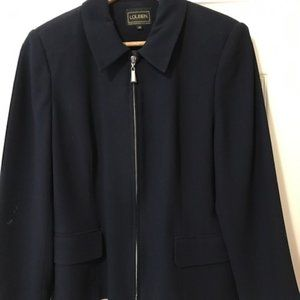 Louben navy jacket and pants